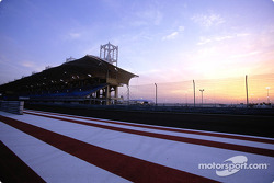 Sunset on Bahrain International Circuit