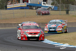 Steven Richards leads Marcos Ambrose and Russell Ingall