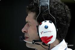 Toyota race engineer Remi Decorzent