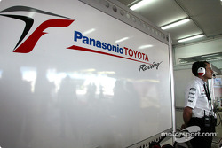 Toyota team manager Ange Pasquali