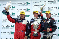 Yvan Muller, James Thompson and Matt Neal