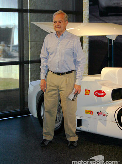 Phil Hill with Chaparral 2E