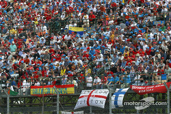 Crowd at Circuit de Catalunya