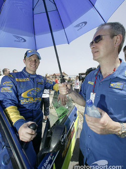 Petter Solberg and David Lapworth