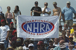 Fans at Atlanta Dragway