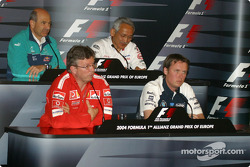 Friday press conference: Ross Brawn, Sam Michael, Peter Sauber and Tsutomu Tomita