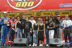American Idols with NASCAR drivers
