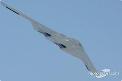 B2 Stealth Bomber flyover