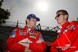 Marcus Gronholm and Nicola Gullino