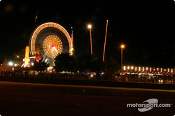 Le Mans sights early on Sunday night