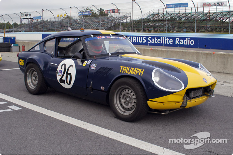 Mark Loucks in his Triumph GT6R 1968