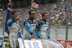 Drivers presentation: Soheil Ayari, Erik Comas, Benoit Treluyer