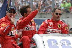 Drivers presentation: Alain Menu, Peter Kox, Tomas Enge