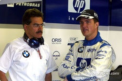 Dr Mario Theissen and Ralf Schumacher