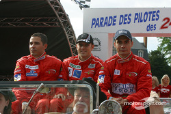 Jean-René de Fournoux, Stéphane Daoudi and Jaime Melo Jr.