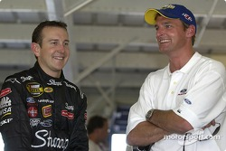 Kurt Busch and Doug Yates