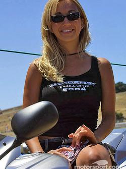 Motorfest girl