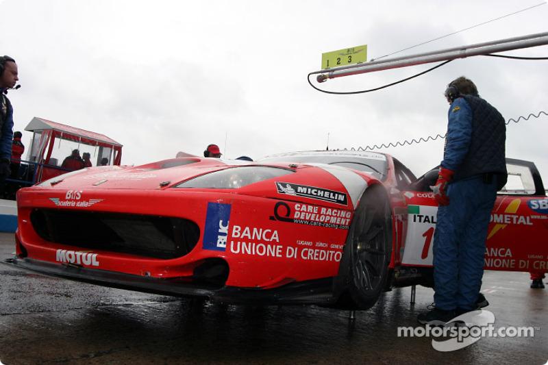 #1 BMS Scuderia Italia Ferrari 550 Maranello: Gabriele Gardel, Matteo Bobbi