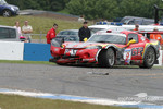 #9 Zwaan's Racing Chrysler Viper GTS: Val Hillebrand, Robert van der Zwaan