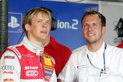 Mattias Ekström and race engineer Alex Stehlig