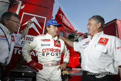 Carlos Sainz and Guy Fréquelin