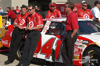 Team Target waits for inspection