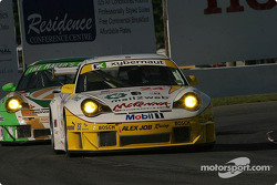 #24 Alex Job Racing Porsche 911 GT3 RSR: Marc Lieb,  Romain Dumas