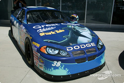 Special paint trim on the #38 Busch series Dodge