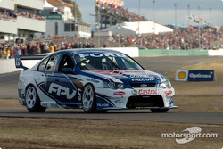 Glenn Seton had to play catch up from the back of the grid