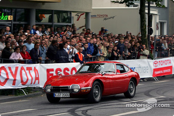 Toyota 2000 GT driven by Markus Schrick