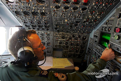 The Navigator on board the VC10