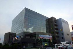 The Tokachi Plaza in Obihiro, headquarters for Rally Japan