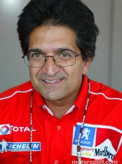 Peugeot's Michel Nandan