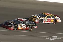 Dale Earnhardt Jr. and Scott Wimmer