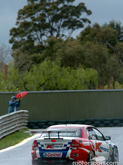 The red flag came out several times during practice