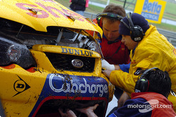 Repairs on the go for Dick Johnson Racing