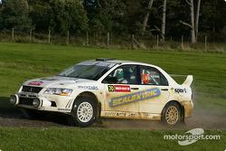 Gwyndaf Evans and Huw Lewis