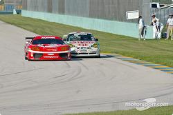 #11 JMB Racing USA Ferrari 360GT: Matt Plumb, Maurizio Mediani, #37 TPC Racing Porsche GT3 Cup: John Littlechild, Spencer Pumpelly