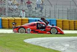 #09 Spirit of Daytona Racing Chevrolet Crawford: Doug Goad, Stephane Gregoire in trouble