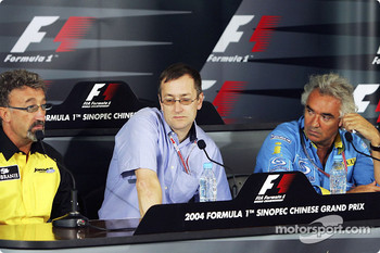 Thursday FIA press conference: Eddie Jordan, Tony Parnell and Flavio Briatore