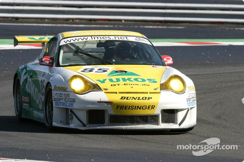 #85 Freisinger Motorsport Porsche 911 GT3 RS: Stéphane Ortelli, Emmanuel Collard