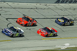 Jimmie Johnson, Robby Gordon, Jeff Gordon and Michael Waltrip