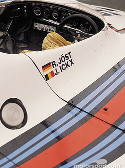 Cockpit of the Joest Porsche 908/80