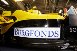 Burgfonds sponsorship for Robert Doornbos