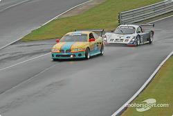 #23 Horizon Motorsports Pontiac GTO: Charles Espenlaub, Frank Del Vecchio, #6 Michael Shank Racing Lexus Doran: Oswaldo Negri Jr., Burt Frisselle