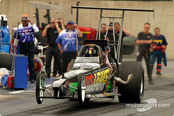 Bill Reichert raises the front when launching in TAD qualifying