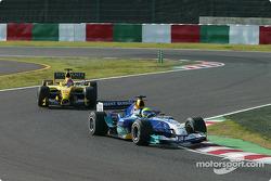 Felipe Massa and Timo Glock