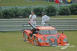 #09 Spirit of Daytona Racing Chevrolet Crawford: Doug Goad, Stephane Gregoire off the track
