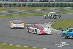 #01 CGR Grand Am Lexus Riley: Scott Pruett, Max Papis, #54 Bell Motorsports Pontiac Doran: Forest Barber, Terry Borcheller, Christian Fittipaldi