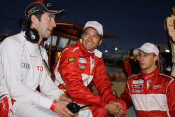Mike Rockenfeller, Timo Scheider and Marco Holzer